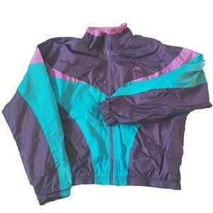 Nike Vintage 90s Colorblock Windbreaker Jacket